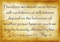 Carl Jung Depth Psychology: Carl Jung's Self-Confidence shaken.