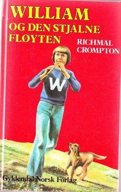 """""""William og den stjålne fløyten"""" av Richmal Crompton Den, Baseball Cards, Reading, Books, Sports, Movie Posters, Movies, Livros, Films"""