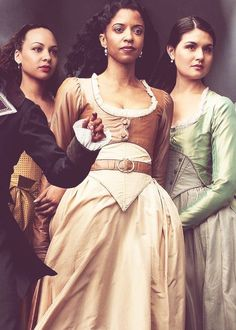 dailyphillipasoo:  The Schuyler Sisters for Vogue
