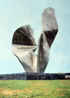 Vojin Bakić: Spomenik pobjedi naroda Slavonije u Kamenskom, 1968.