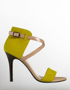 COLE HAAN Leather High-Heel Sandals