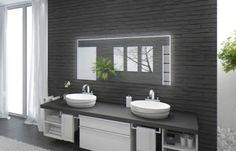 Badspiegel Mit Beleuchtung Santa Rosa M220L3: Design Spiegel Für  Badezimmer, Beleuchtet Mit LED