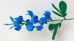 Paper Flowers Baptisia Australis(flower # 135)