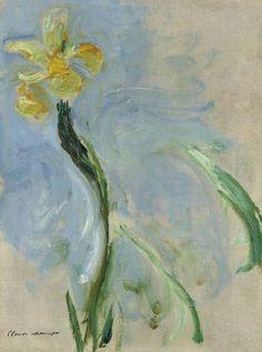 Iris jaune, Claude Monet. (1840 - 1926)