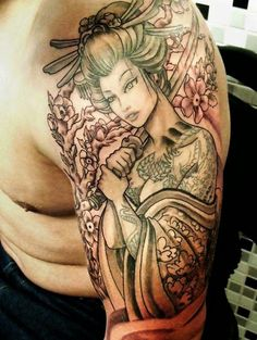 52 Geisha Tattoos Designs And Ideas