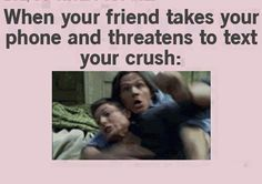 that awkward moment when your best friend is friends with your crush - Google Search