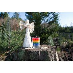 #rainbow #candle Straw Bag, Rainbow, Candles, Bags, Rain Bow, Handbags, Rainbows, Candy, Candle Sticks