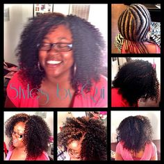 Crochet braids with Freetress water wave hair