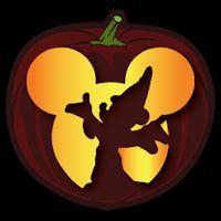 Disney - sorcerer Mickey  Free Halloween pumpkin carving stencil design template pattern
