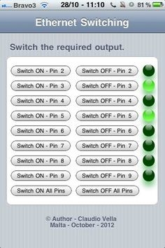 Ethernet Switching - with Arduino - Description