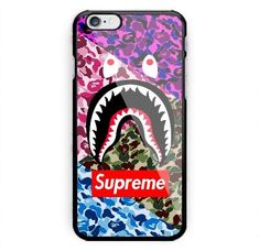 New Supreme Bape Trip Camo Colorfull Luxury Design For iPhone 8 Plus & iPhone X