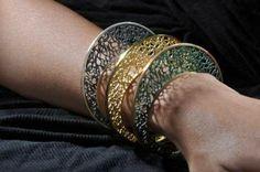 Unique Handmade Filigree Bracelet Sterling Silver by AlexDeHaro Oxidized Sterling Silver, Sterling Silver Bracelets, Bangle Bracelets, Bangles, Filigree Jewelry, Silver Filigree, Arabian Women, Handmade Silver, Jewelry Design