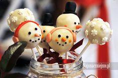 Cake pops - ciastka na patyczkach #ceke #pops #cakepops #najsmaczniejsze #food #najsmaczniejsze #święta