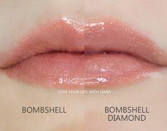 Bombshell vs. Diamond Bombshell Lipsense