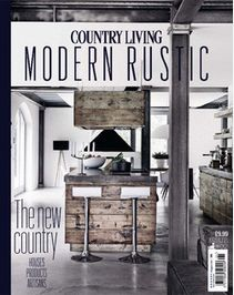 Buy Country Living Modern Rustic, Country Living Modern Rustic - Special on our Newsstand or get the subscription to the digital magazine and read it anywhere, anytime. Keep It Simple, Beautiful Interiors, Rustic Furniture, Modern Rustic, Country Living, Interior Inspiration, Entryway Tables, Shelves, Traditional