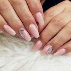 Short girly pretty natural acrylic nails www galleryneed com cute Easter Nail Art, Fall Nail Art, Polka Dot Nails, Pink Nails, Gel Designs, Nail Art Designs, Gorgeous Nails, Pretty Nails, Coffin Nails