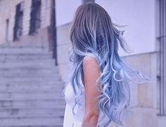 blue omber