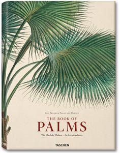 Vintage book cover. The Book of Palms. Carl Friedrich Philipp von Martius (1794–1868). Taschen reprint.