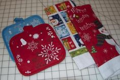 materials for hanging potholder kitchen dish towel