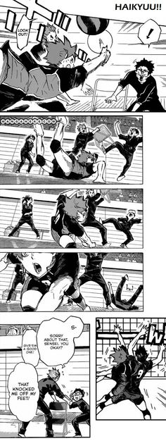Haikyuu!! Chapter 121-122 | Poor Takeda-sensei.. :)