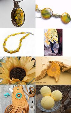Pretty Yellows by Chris on Etsy--Pinned with TreasuryPin.com
