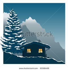 norway mountain illustration - Google Search