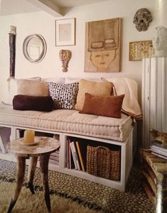 This little daybed looks comfy, elements of style blog