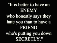 This quote reminds me of one jerk who continuously manipulated and betrayed me - I'd like to kick his rear, but the reality is it made me a better, more loyal friend.