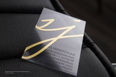 Clear Business Cards …