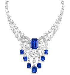 Graff Blue Diamond | Aside from diamonds, Laurence Graff is passionateabout art collection ...