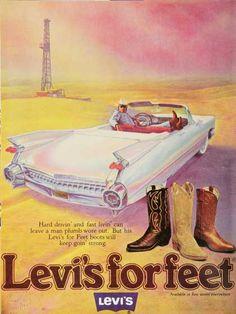 Levi's ad, 70's
