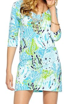 Lilly Pulitzer Eliza V-Neck T-Shirt Dress in Let's Cha Cha (Medium) - my favorite dress I own!
