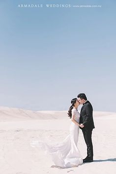 Lancelin Sand Dunes, Perth Pre-wedding - Celebrating Mandy & Marcus   Armadale Weddings   Wedding Gallery in Malaysia