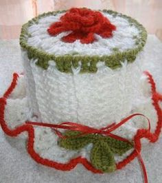 Crochet Crafts, Crochet Dolls, Crochet Clothes, Free Crochet, Crochet Toilet Roll Cover, Crochet Towel, Toliet Paper Holder, Toilet Paper, Holiday Crochet Patterns