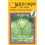 Appalachian Trail Conservancy- Edible Wild Foods Playing Cards, you can use these cards to identify 52 edible plants…while playing your favorite card game at stops along the trail.