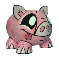 Joe Ledbetter Piggy Bank : Pink