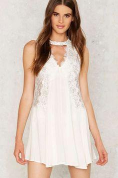 Irina Lace Dress - Clothes | Summer Romantics | Going Out | LWD | Summer Whites