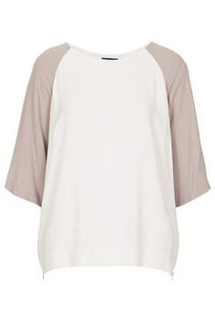 Textured Crepe Tunic - Tops  - Clothing
