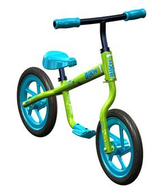 Take a look at this Green Balance Bicycle by Trikke on #zulily today!