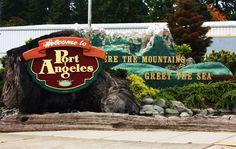 Port Angeles, Washington- On our way to grandmas house. :)