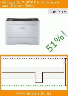 Samsung SL M 3820 DW - Impresora Láser Blanco y Negro (Ordenadores personales). Baja 51%! Precio actual 236,70 €, el precio anterior fue de 481,80 €. https://www.adquisitio.es/samsung/sl-m-3820-dw-impresora