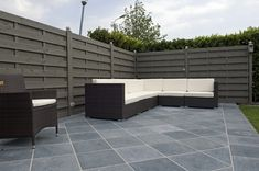 Wide range of terrace tiles with Style in Belgium Terrace Tiles, Patio Tiles, Outdoor Tiles, Outdoor Decor, Cottage Toilets, Home Interior, Exterior Design, Belgium, Outdoor Furniture Sets