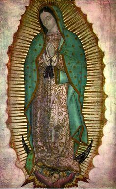 アンティークアナスタシア 神戸北野町 聖母マリアに関するレファレンス グアダルーペの聖母 アンティーク メダイ ロザリオ
