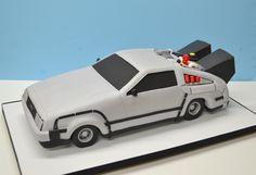 Delorean Car, Back to the Future Cake