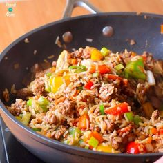 Cajun dirty rice slimming world & weight watchers friendly - pinch of n Slimming World Chicken Fried Rice, Dirty Rice Slimming World, Slimming World Dinners, Slimming Recipes, 300 Calorie Dinner, Low Calorie Dinners, Batch Cooking, Cooking Recipes, Ww Recipes