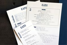 Gato by M. Bierut  Pitch typeface