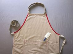 Put your fabric stash to use and sew an apron for yourself or a friend with this FREE step-by-step tutorial.