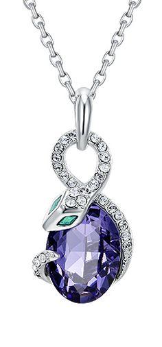 #CDE Crystal #Swarovski #Necklace #Pendant