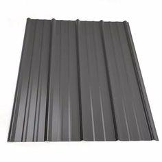 Steel Roof Panels, Metal Panels, Metal Roof Houses, House Roof, Metal Roof Colors, Black Metal Roof, Metal Siding, Metal Roofing Sheets, Steel Roofing