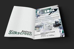 Anúncio em Revista - Silkscreen